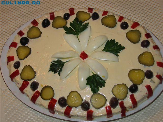 Salata de boeuf craciun