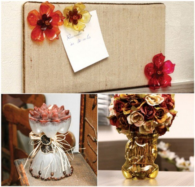 25 Easy Diy Home Decor Ideas: Reciclare Creativa Din Peturi De Plastic