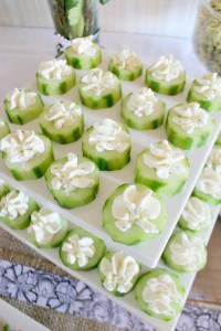 Herbed-Cheese-Filled-Cucumbers